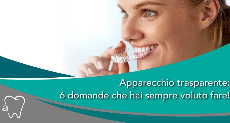 apparecchio trasparente | Amadental Milano