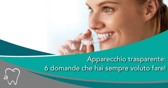 apparecchio trasparente   Amadental Milano